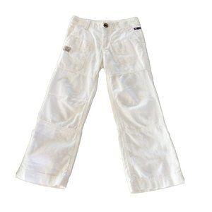 Mexx Boys Linen White Pants